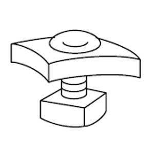 Steel City G-974-3/4 Steel Fastener
