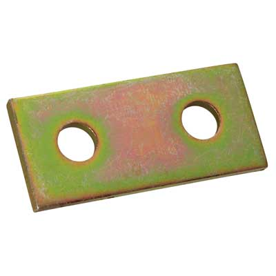 Superstrut AB206 Two Hole Flat Splice Plate