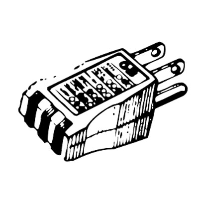 "Blackburn/Elastimold 19-060 Receptacle Tester,"""