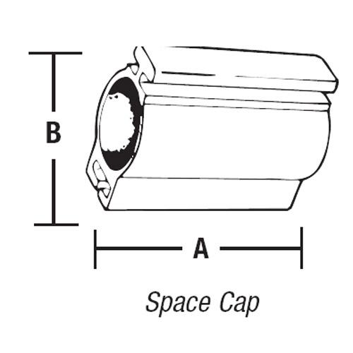 STL-CTY BT502 3/4 SPACE CAP EMT NM